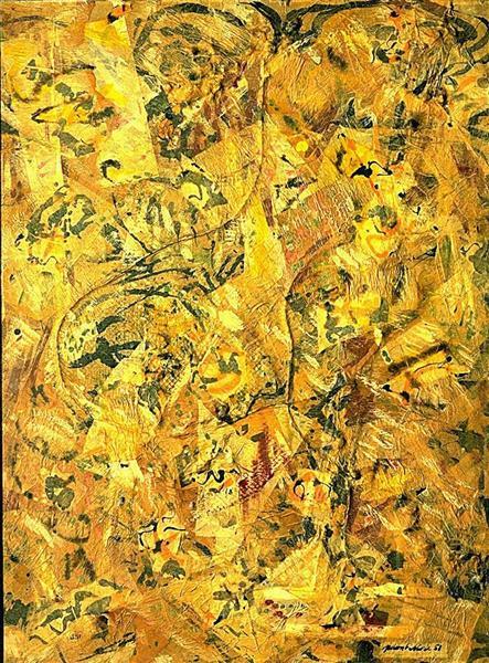 Number 2, 1951 - Jackson Pollock