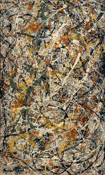 Number 3, 1949 - Jackson Pollock