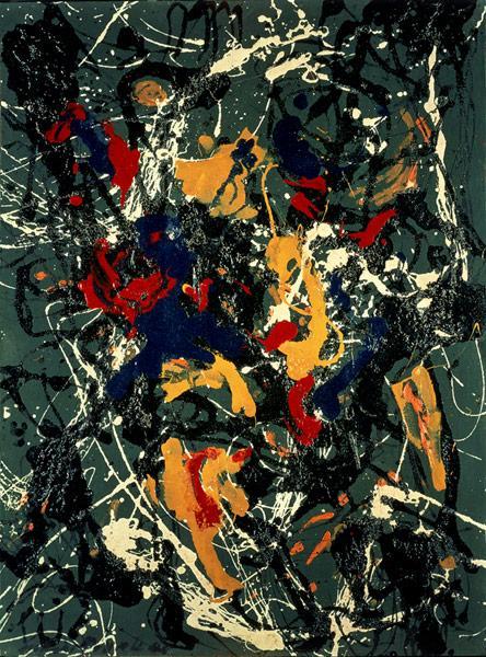 Number 3, 1948 - Jackson Pollock