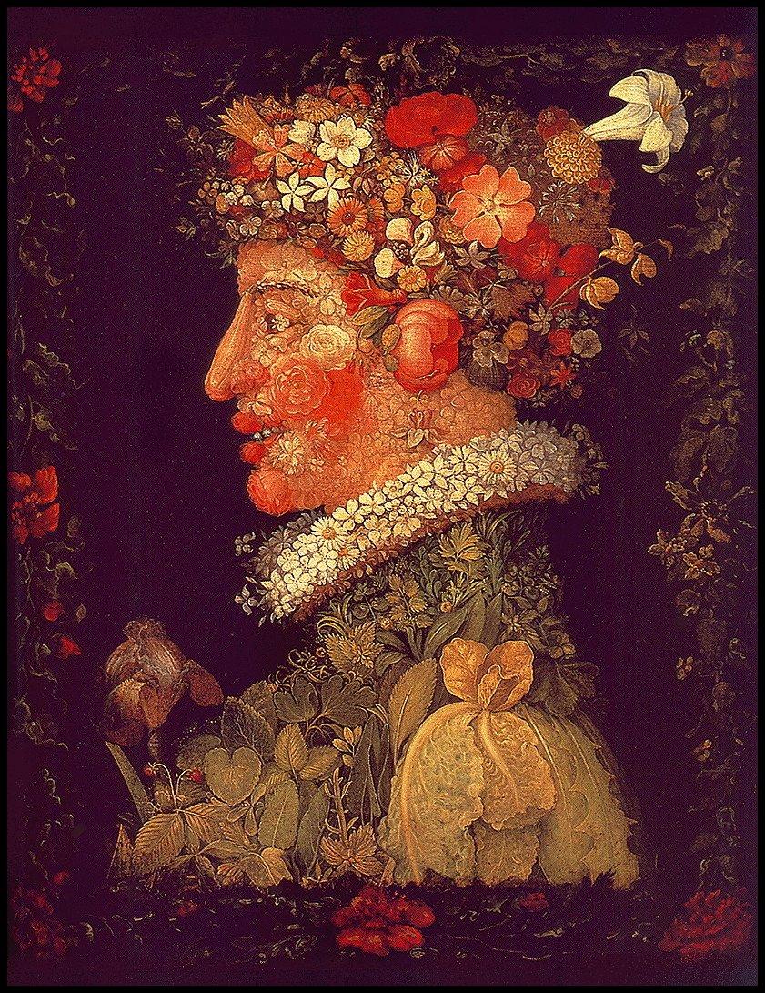 Весна - Джузеппе Арчимбольдо - WikiArt.org: www.wikiart.org/ru/giuseppe-arcimboldo/spring-1573