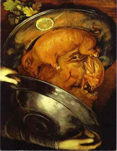 The Cook, 1570 - Giuseppe Arcimboldo